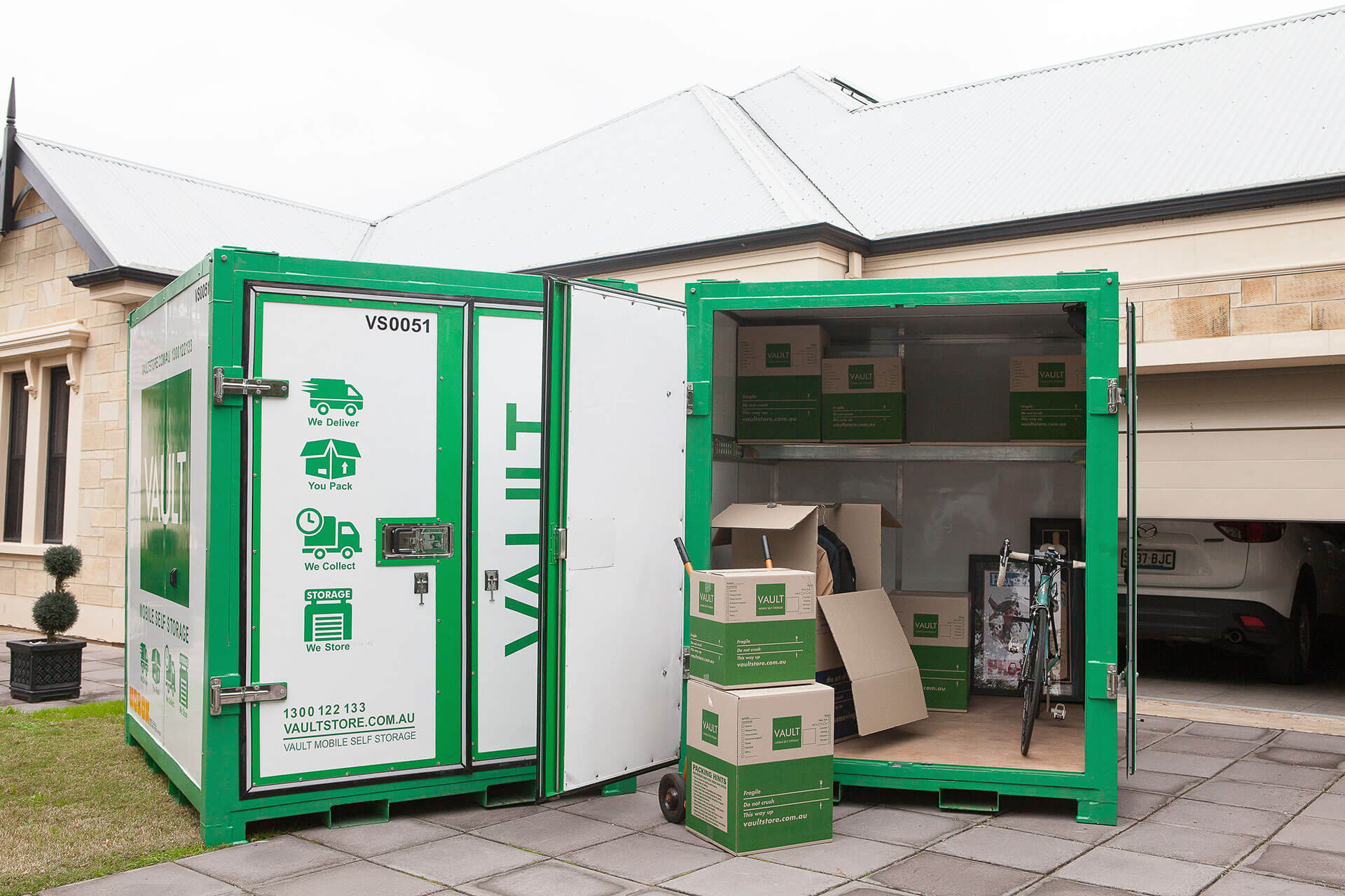 mobile self storage adelaide