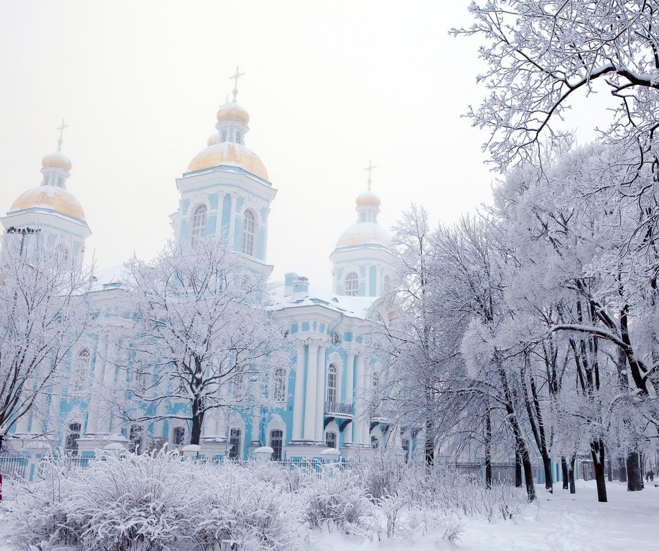 st petersburg winter